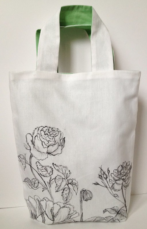 16 - Botanic Sketch Tote Bag Tutorial