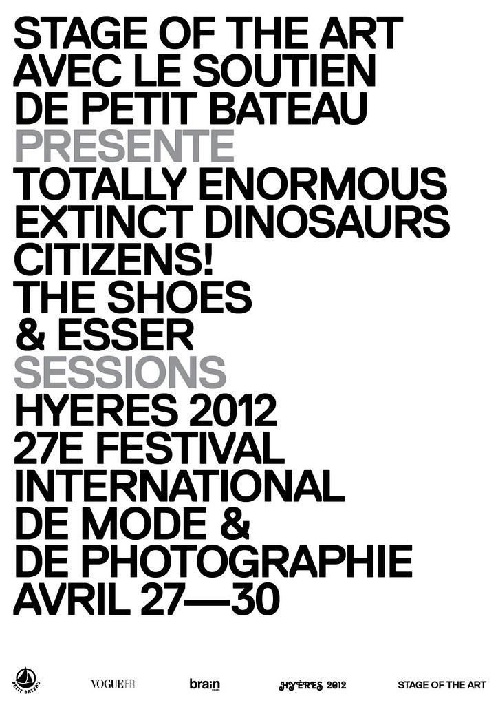 No Hyères também tem música! Neste ano teremos grandes apresentações: Totally Enormous Extinct Dinosaurs, Citizens!, The Shoes & Esser