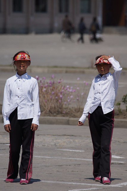 Hamhung City Square, DPRK, North Korea