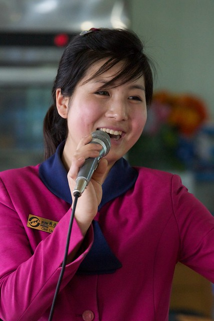 Pyongyang Singing Waitress