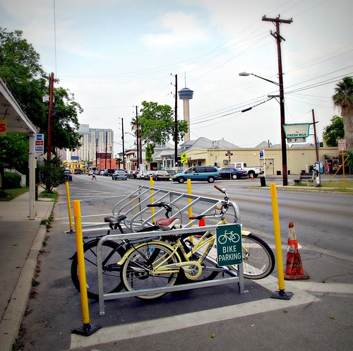 On Street Bicycle Parking