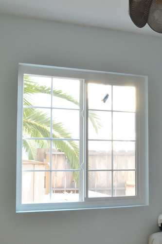 Blue Room Window Before Bottom Casing