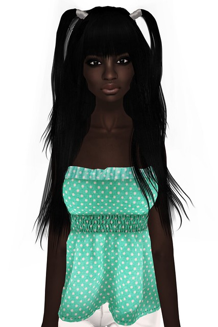 Alli&Ali free hair + NiNight free top