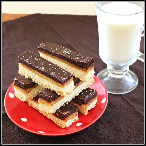 Fancy Twix Bars