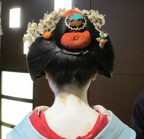 Maiko, Katsune, at Kyoto in Japan: 舞妓、勝音、京都