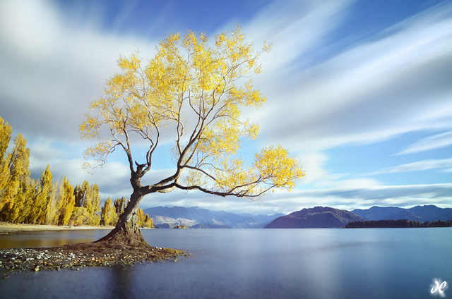 Wanaka Dreaming - Wide Angle Photography