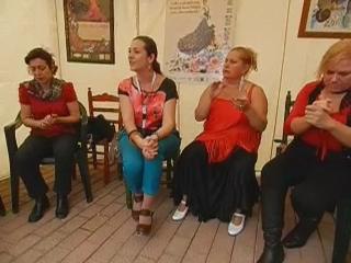 vídeo 5 Taller aprendizaje palmas impartido por Amparo Navarro V Feria abril Las Palmas de Gran Canaria 2012