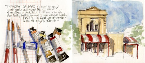 120508 Quick inkless sketches by borromini bear