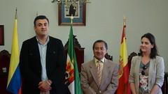 RECEPCIÓN DE PEREGRINAS PROVENIENTES DE COLOMBIA, MÉJICO Y ESTADOS UNIDOS