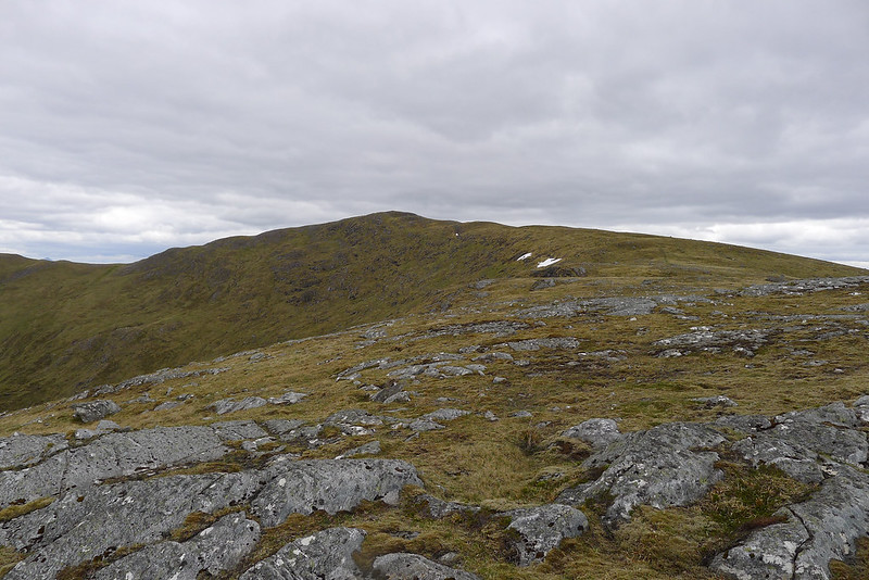 On the northern ridge of Carn Dearg