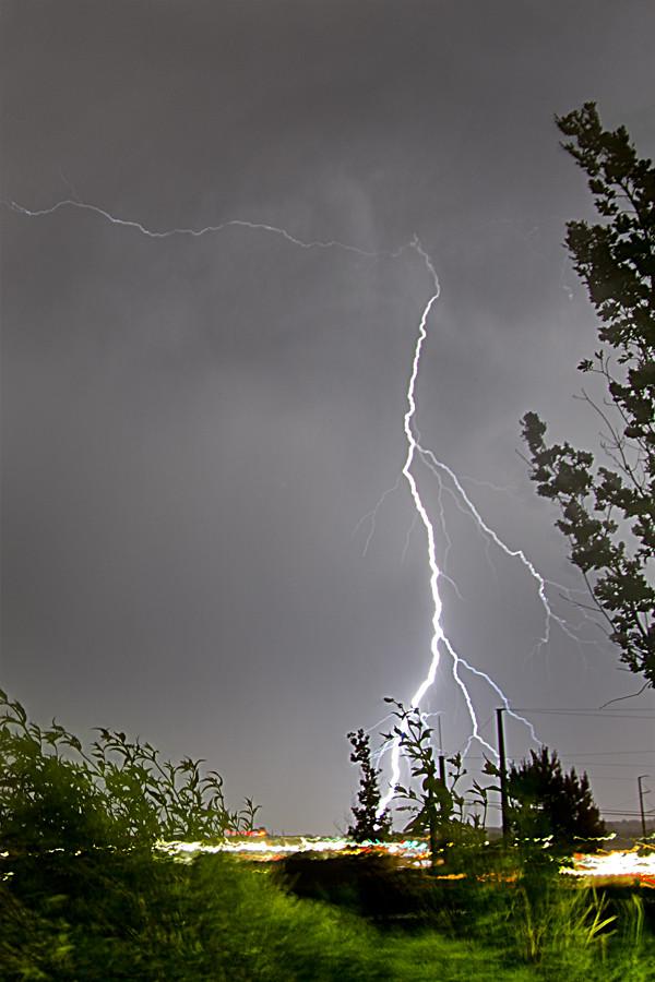Lightning over Denver
