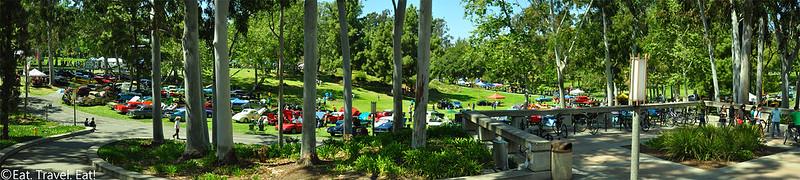 UC Irvine- Irvine, CA: Aldrich Park Panorama