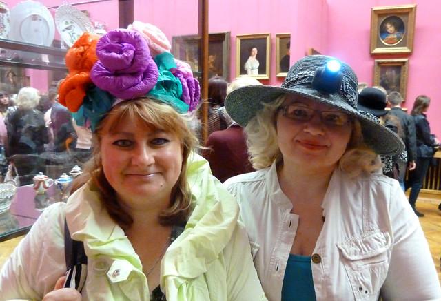 Минск Ночь музеев 2012 Креативная шляпка - пропуск в музей 4
