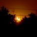 el sol despidiéndose eclipsada mente