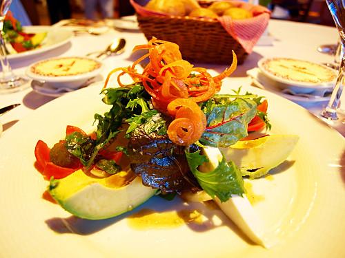 Canarian Salad at La Parrilla Restaurant, Hotel Botanico, Puerto de la Cruz