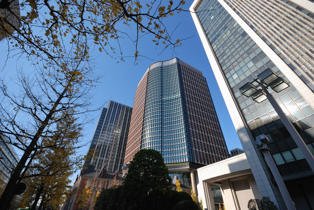 Buildings in Marunouchi