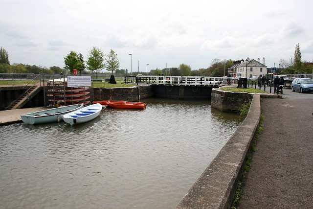The start of the Exeter ship canal