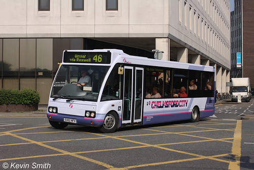First Essex Optare Solo 53136 EO02NFV