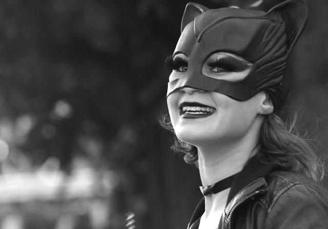 Catwoman på Strøgtur