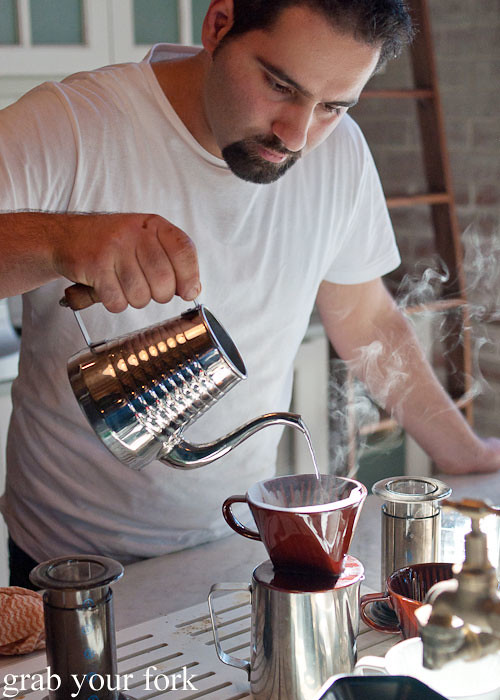 Pour over coffee at The Grounds of Alexandria