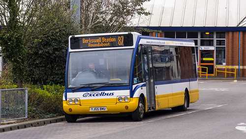 Johnsons YJ55 BMU in Coventry Bus Station on route 87