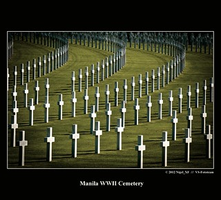They died for freedom ... Manila WWII Cemetery