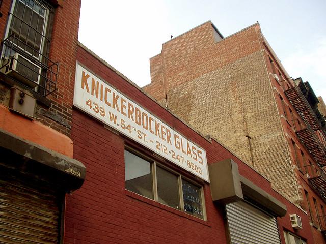 Knickerbocker Glass