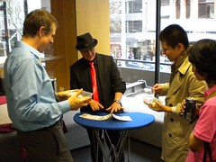 Magician at the kangan ELICOS centre