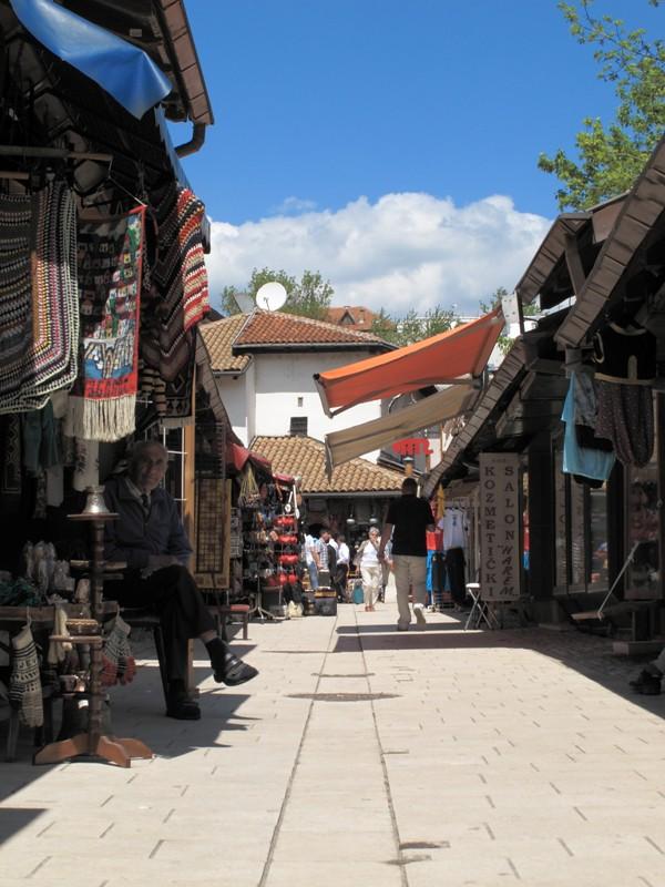 Vieille ville de Sarajevo