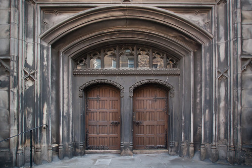 {Church Doors} Higk Kirk of Saint Giles