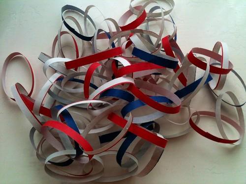 Jubilee paper chain