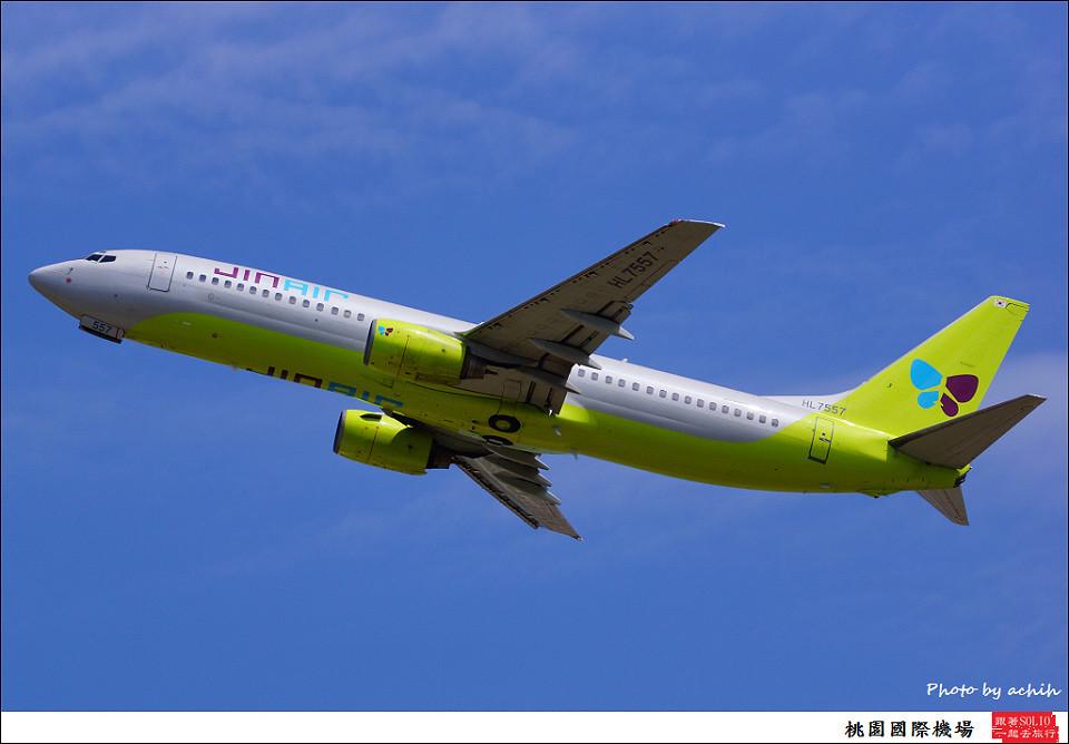 JIN AIR HL7557客機001