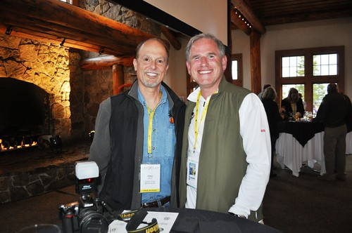 Glen Abbot, the Travelin'Gringo, with Scott Jordan, Founder of ScotteVest Travel Clothing