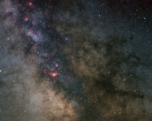 Legacy Astrophotography:  Heart of the Milky Way by Nightfly Photography
