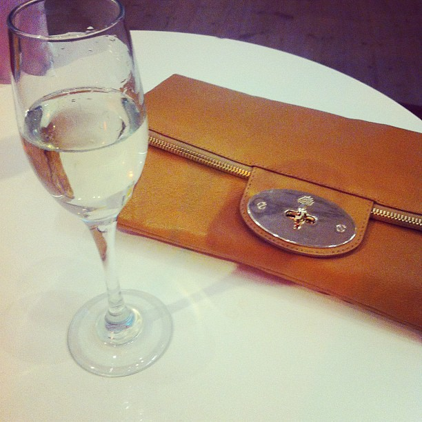 Mulberry and champagne <3