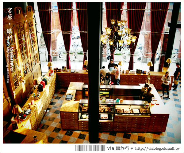 【宮原眼科】台中日出鳳梨酥再一鉅作~復古味十足的旗鑑店!(上集)28