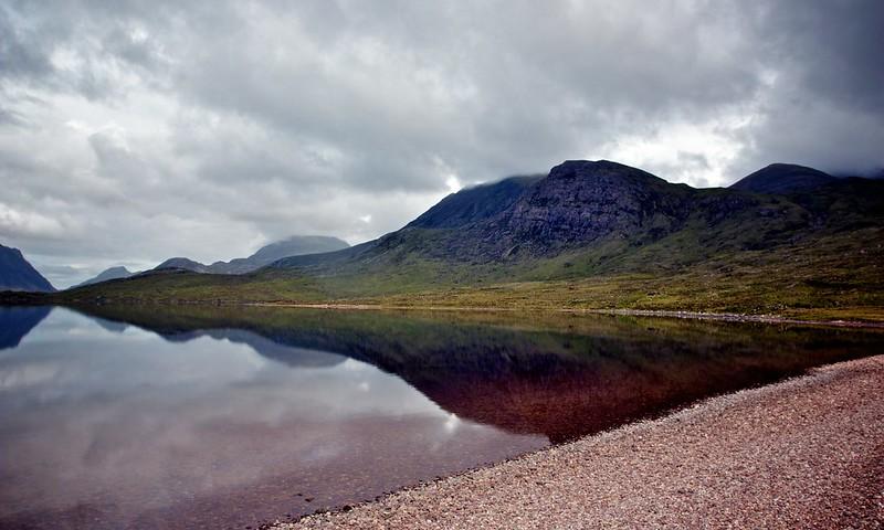 Beinn Tarsuinn above Lochan Fada
