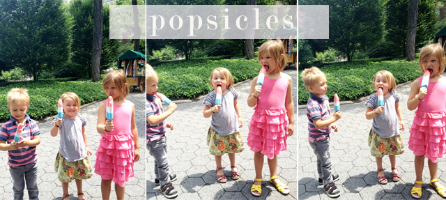 popsicles collage