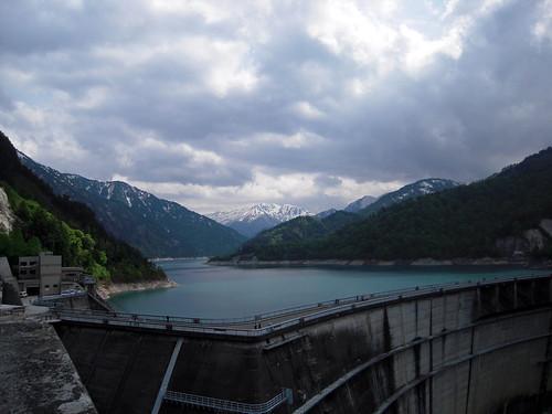 20120607 1442 Kurobe Dam
