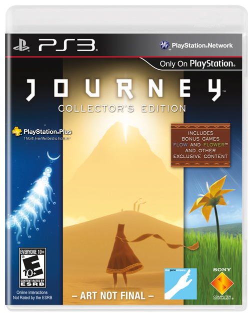 Journey Collector's Edition Available August 28th; Box Art & Trailer Released