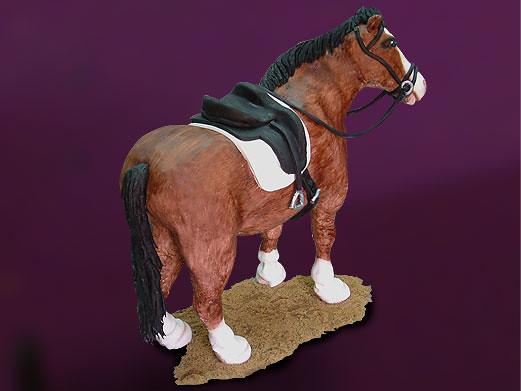 Red Horse Cake Design : standing horse cake. tarta caballo de pie Flickr - Photo ...