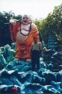 Tiger Balm gardens- Laughing Buddha
