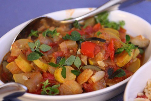 Summer Squash Ratatouille