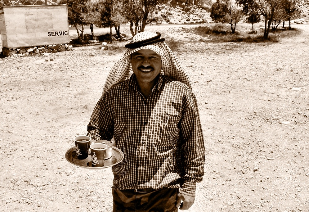 Coffee vendor, Jordan
