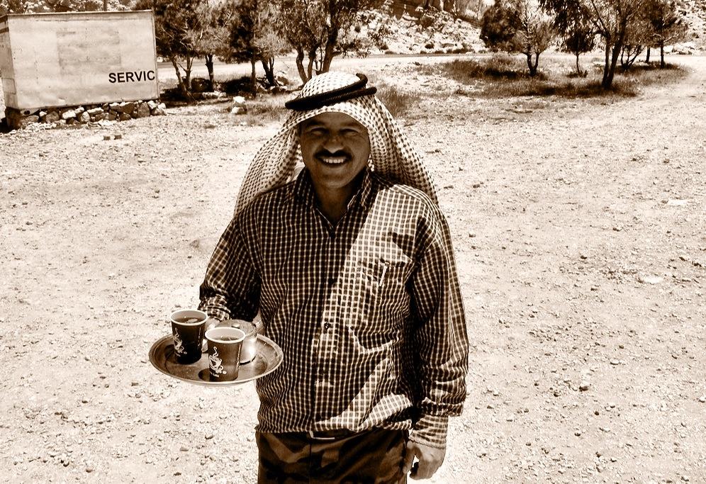 Coffee vendor, Jordan