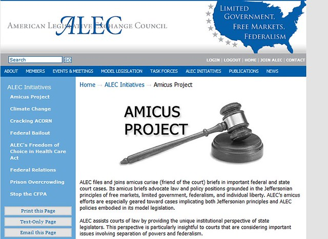 Amicus Project header capture