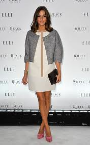Olivia Palermo Tweed Jacket Celebrity Style Women's Fashion 1
