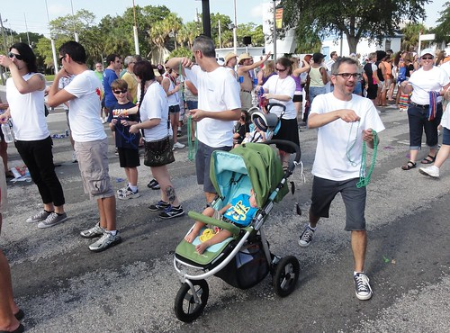 Gay parents at Saint Pete Pride