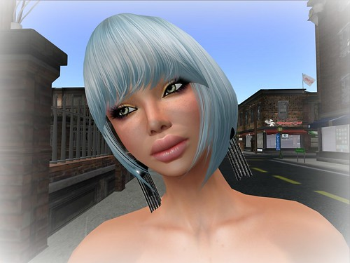 [TC] Tim Mesh Hair Blue Gift by Cherokeeh Asteria