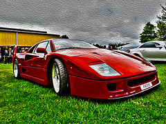 ferrari 360(0.0), race car(1.0), automobile(1.0), wheel(1.0), vehicle(1.0), performance car(1.0), automotive design(1.0), ferrari f40(1.0), ferrari s.p.a.(1.0), land vehicle(1.0), luxury vehicle(1.0), supercar(1.0), sports car(1.0),